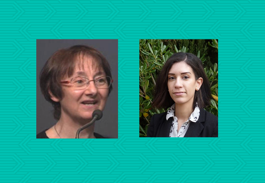 Erika Guyot, PhD student in Nutrition & Eating Behaviour, and Sylvie Issanchou, Senior Scientist.