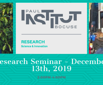 vignette_Research Seminar - December 13th,2019 Semantic Memory and Eating : insight from a neuropsychological perspective